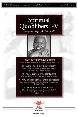Ysaye Barnwell – Spritual Quodlibets I – V